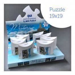 Puzzle Matera + Espositore