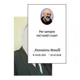 Ricordino Lutto Padre Pio - defunti